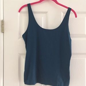 Chico's blue tank top size 1(small)